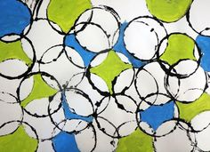 abstract art for kids, abstract art kids, kids arts and crafts area, kids crafts painting, styrofoam cup, circle art for kids, crafti idea, diy kid crafts, diy crafts for kids with paint