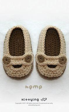 Khaki hemp crochet pattern