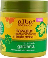 Alba Botanica® Hawaiian Deep Conditioning Minute Mask So Smooth Gardenia