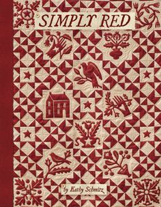 Simply Red pattern by Kathy Schmitz