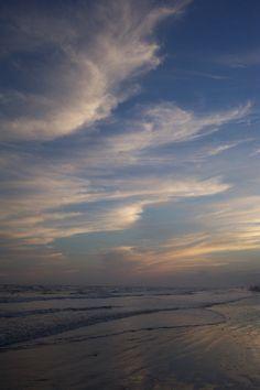 Port Aransas Texas clouds