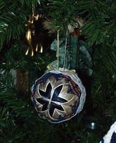 Make a Folded Star Christmas Ornament