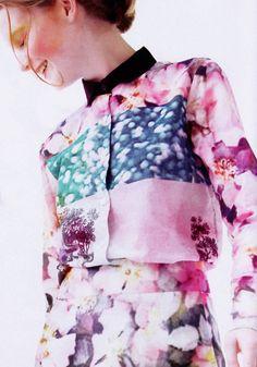 #Printed watercolours  summer women #2dayslook #new #fashion #nice  www.2dayslook.com