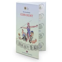 UK 50p #Sports Edition #Coin #Collector Album - with spaces for each of the 29 #London 2012 Olympic & Paralympic sport 50p #coins