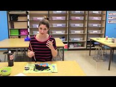 Video: Making a Simple Batik for the Classroom. During my first year of teaching, I attempted real batik with my fourth graders. Yes, hot melted wax, permanent fabric dye and about 10 hours of ironing on my part. It was silly. Luckily, I've come up with a much easier (and less messy) way to achieve a similar effect.
