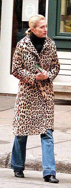 Carolyn Bessette, New York, December 1997.
