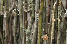 twig jewelry organizer by lefiligree, via Flickr