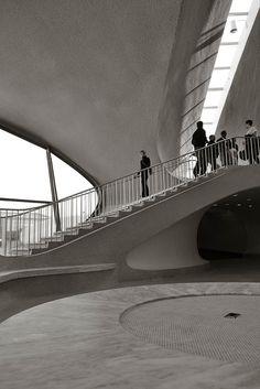 TWA Terminal @ JFK by Eero Saarinen (1962)