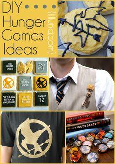12 DIY Hunger Games Ideas for all The Hunger Games fans! { lilluna.com }