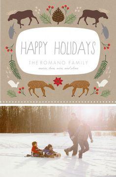 super cute holiday card design!