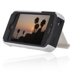 iPhone 4 4S Stowaway de Incipio,mi marca favorita de protectores de celular iphone4