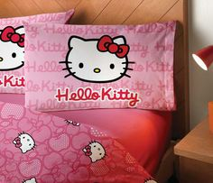 Hello Kitty Sheet Set: Apple