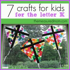Crafts for Letter Kk (from The Measured Mom)