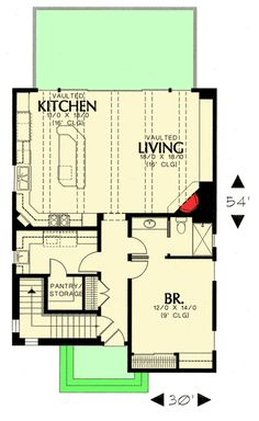 Floor plans on pinterest floor plans house plans and for 1br apartment design ideas
