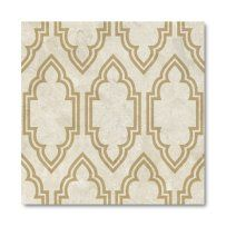 4 in. Hand Printed Fredish Mural Limestone Tile - Set of 16