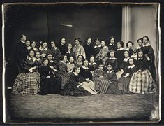 Group photo - Civil War era 1860s