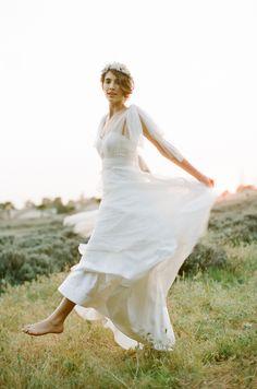 dress by Jenny Yoo, photo by This Modern Romance