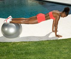 4 weeks to gorgeous abs workout - 8 easy exercises.