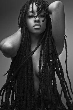 long locs #dreadstop - We are Live at www.DreadStop.Com long loc, long hair, natur hair, dreadlock, natur beauti, nerissa irv, mother earth, fashion women, black