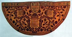 Cape of Henry VII - cape for the King of England who lived in 1457-1509. Victoria and Albert Museum