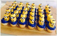 minion twinkie cupcakes, twinki cupcak, minion twinkies