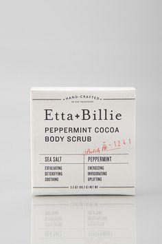 Etta + Billie ~ Peppermint Cocoa Body Scrub