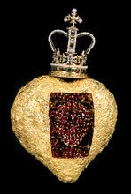 dali spanish, emeralds, pearl, diamonds, garnet