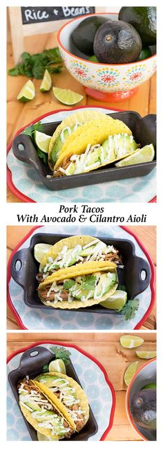 These easy pork taco