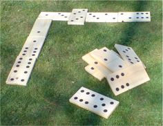 Lawn games - dominoes, jenga, bean bag toss, horse shoes, croquet, corn hole, and the list goes on