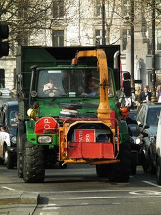 Very cool truck!  A Unimog.