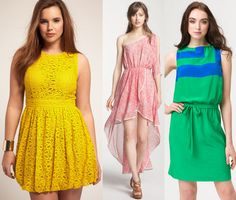Fun spring dresses I want!