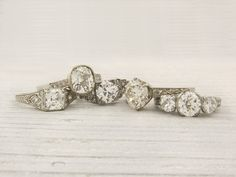 gorgeous vintage engagement rings