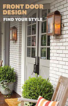 Transform your front door by taking our fun quiz to get tips to suit your style.  http://www.bhg.com/home-improvement/door/exterior/front-door-design/?socsrc=bhgpin022314frontdoorapp