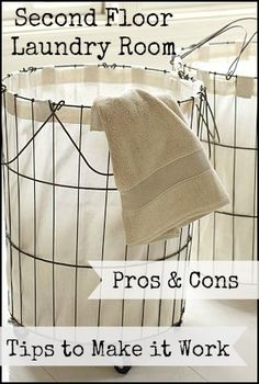 Driven By Décor: Second Floor Laundry Room: Pros, Cons, & Tips for Making it Work