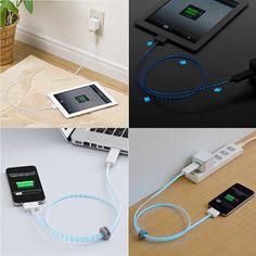 #Xenon #LED #USB Recharging #ipad #Cable