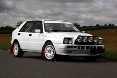 The legendary Lancia Delta Integrale. A four wheel drive, turbocharged tarmac eater. This is the quicker 16v version. The shell has been totally stripped, painted and rebuilt to Group N rally specification.