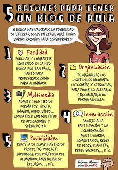 Cinco razones para tener un blog de aula | Flickr: Intercambio de fotos