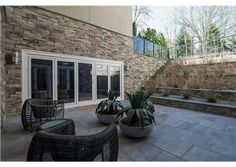 This backyard makes the most out of its unique layout. The large patio is great for hosting large scale celebrations or just for enjoying a few moments of silence alone. Livingston Twp., NJ Coldwell Banker Residential Brokerage
