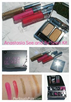 Anastasia See and Be Seen Kit. You Need This! Click through for Swatches, Photos, Review |Perilously Pale