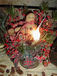 Gingerbread man....