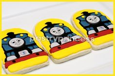 Thomas the Train sugar cookies (again)