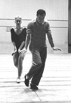 Claude Bessy & Gene Kelly