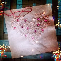 Cross stitch Valentine's - Oh Sew Much