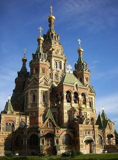St. Peter and Paul Church, near St. Petersburg, Russia