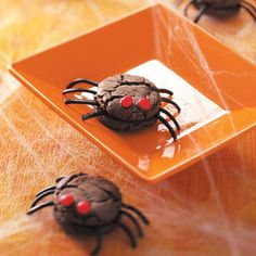 Creepy Spiders Recipe from Taste of Home