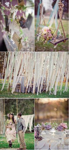 Decor ideas for Boho wedding