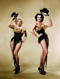 The lovely Marilyn and Jane!
