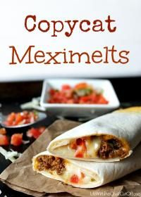 Copycat Meximelts are a family favorite recipe! Your kids will love these!