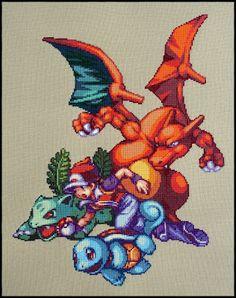 A video game cross stitch blog!