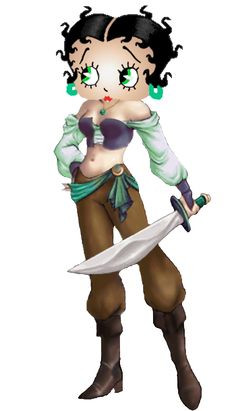 Betty Boop Pirate Girl